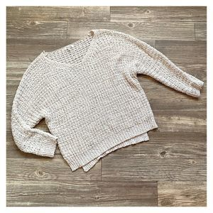Miracle Oatmeal Drop Shoulder Oversized Sweater